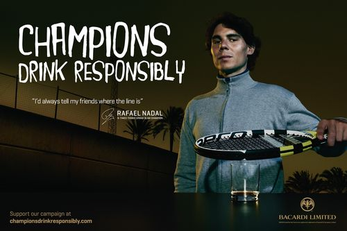 Rafael Nadal Bacardi August 2011