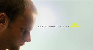 Andy Roddick_Lacoste Fragrance Ad